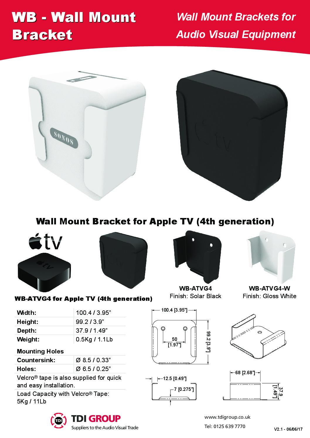Wall Mount Bracket For Sky Q Mini Box Tdigroup