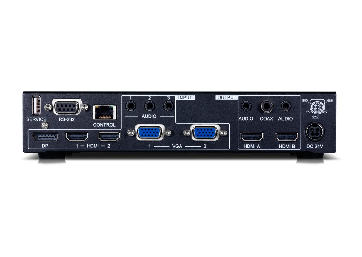EL-7300 HDMI / VGA / Display Port Presentation Switch and